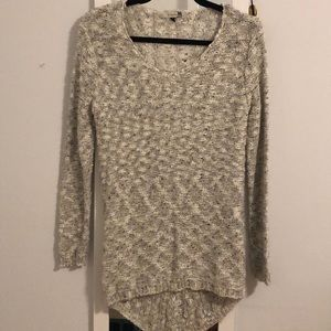 Sweaters - Gray Tunic Sweater